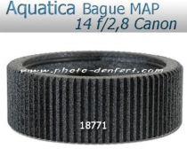 Aquatica bague de mise au point pour Canon 14 f/2,8