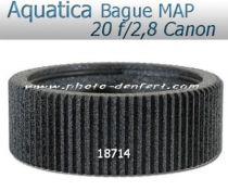 Aquatica bague de mise au point pour Canon 20f/2,8