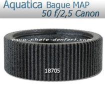 Aquatica bague de mise au point pour Canon 50 f/2,5