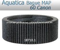 Aquatica bague de mise au point pour Canon 60 f/2,8 Macro