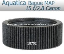 Aquatica bague de mise au point pour Canon EF 15mmf/2,8