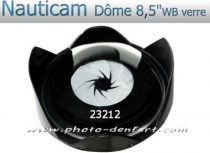 "Dôme 8,5\""  Nauticam Verre WB"