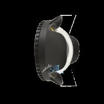 Dôme Fisheye pour compact avec objectif de 24mm