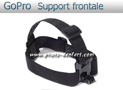 GoPro support frontale