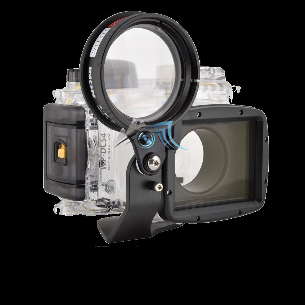 Howshot Flip porte llentille en 67mhowshot-flip-porte-llentille-en-67mm-pour-wpdc54-canon-g7xm pour WPDC54 Canon G7