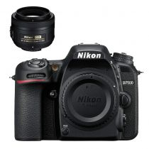 Nikon D7500 avec 35 DX appareil photo numérique Réflex Boîtier Noir