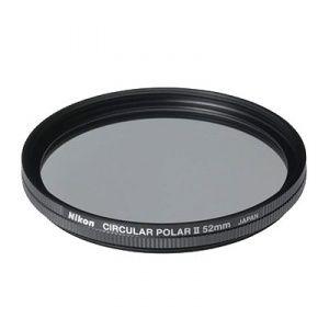 Nikon filtre polarisant circulaire en 52 mm