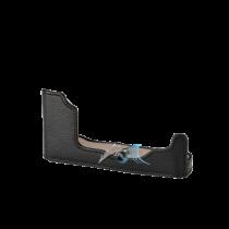 Olympus CS-47B embase cuir noir pour PEN-F