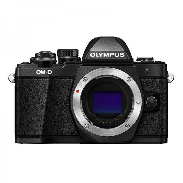 Olympus OM-D E-M10 Mark II nu noir face