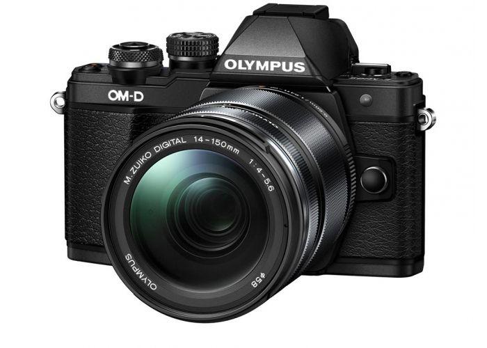 Olympus OMD E-M10 Mark II black 14-150mm II