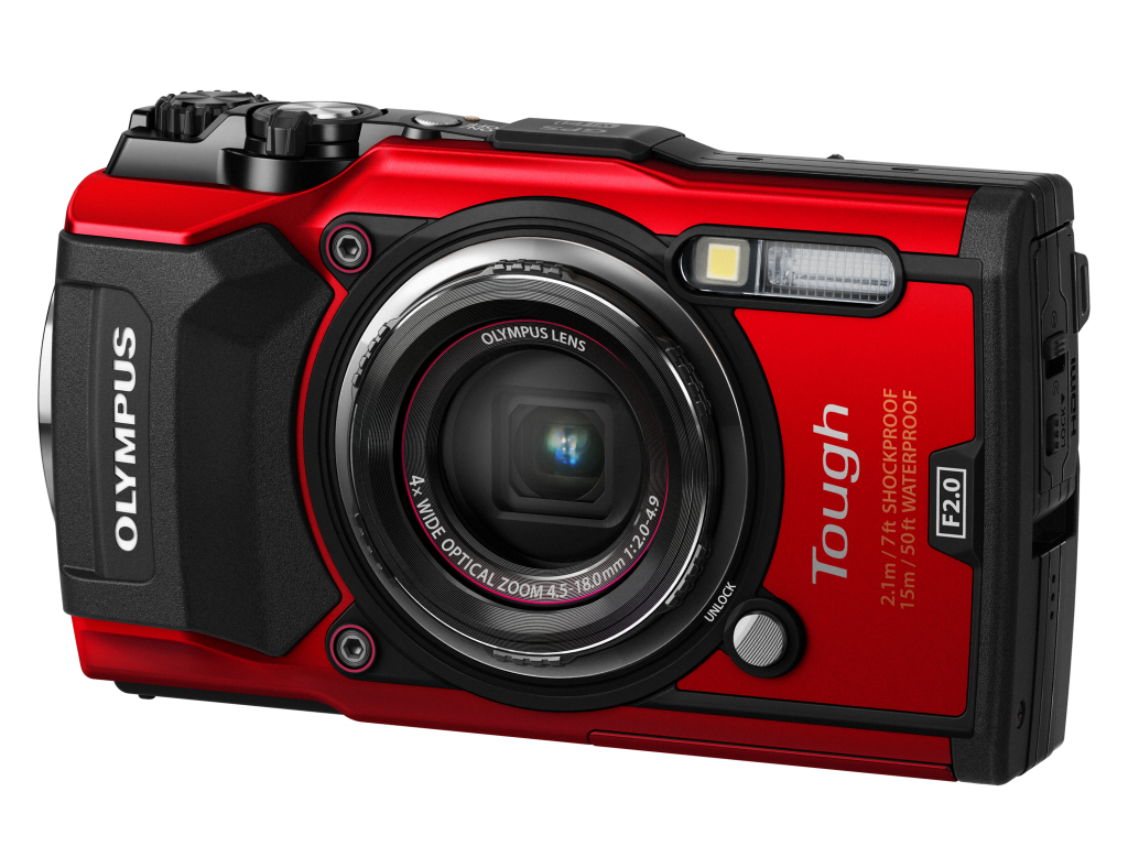 Olympus Tough TG-5 rouge