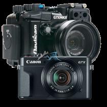 Pack Canon G7X II avec caisson Nauticam G7X MKII