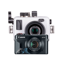 Pack Canon G7X Mk II avec caisson Ikleite