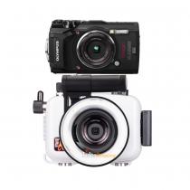 Pack Ikelite TG-5 Tough avec flash LG3000 et LG1 Offert