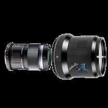 Pack Olympus 60mm f/2,8 macro avec hublot Nauticam