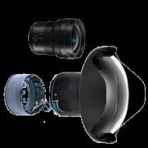 Pack Panasonic 8-18mm f/2,8 avec dôme et bague zoom Nauticam