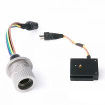 Prise Nikonos 5 connexion sur M14 Nauticam avec prise sabot flash