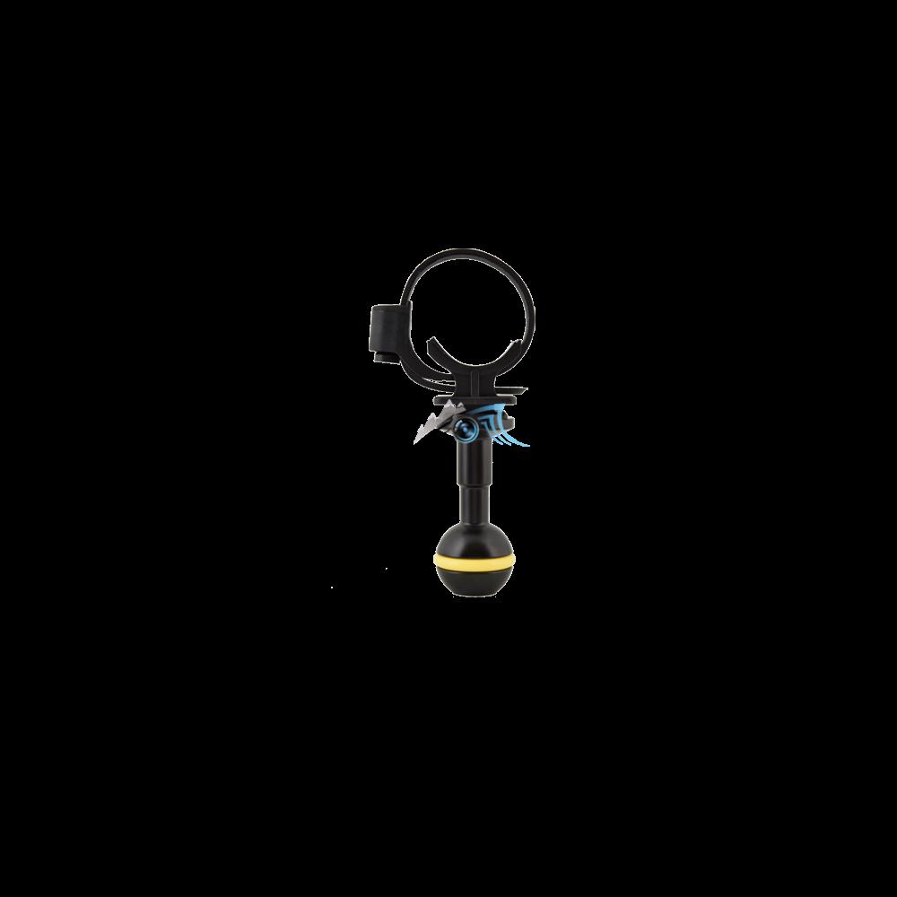 Rotule de 25mm avec support réglable