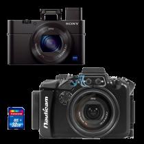 Sony RX100 M3 avec caisson Nauticam RX100 M3