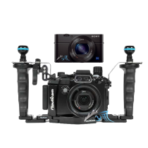 Sony RX100 M5 avec caisson Nauticam RX100 M5 PRO