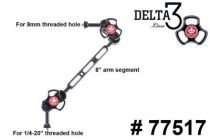 TLC bras � 3 section avec adaptateur 8mm 77517