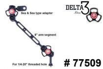 TLC bras avec adaptateur sea & sea à 3 section 77509