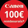 Pour l'achat d'un Produit éligible à l'offre Canon ÉTÉ 2019 entre le 15 avril 2019 et le 31juillet 2019 inclus, Canon vous rembourse jusqu'à 600 euros.