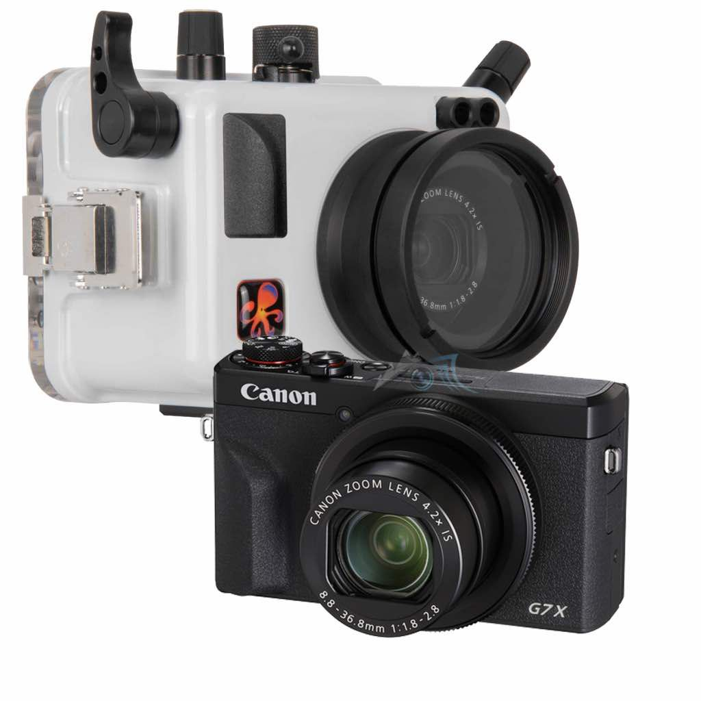 Pack Canon G7X Mk III avec caisson Ikelite