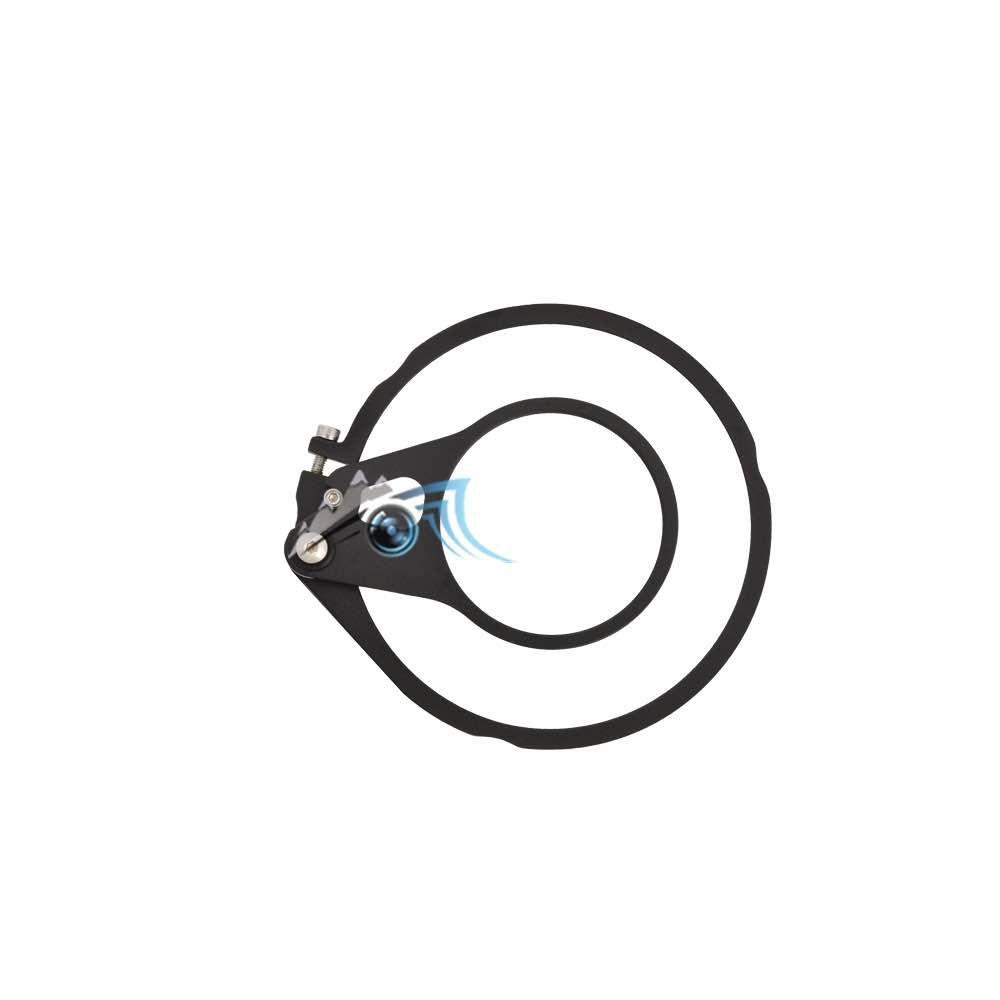 ArmShot flip porte lentille 67mm pour hublot 120mm