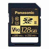 PANASONIC SDXC 128 GO R280 W250 UHS-II V90 CL10