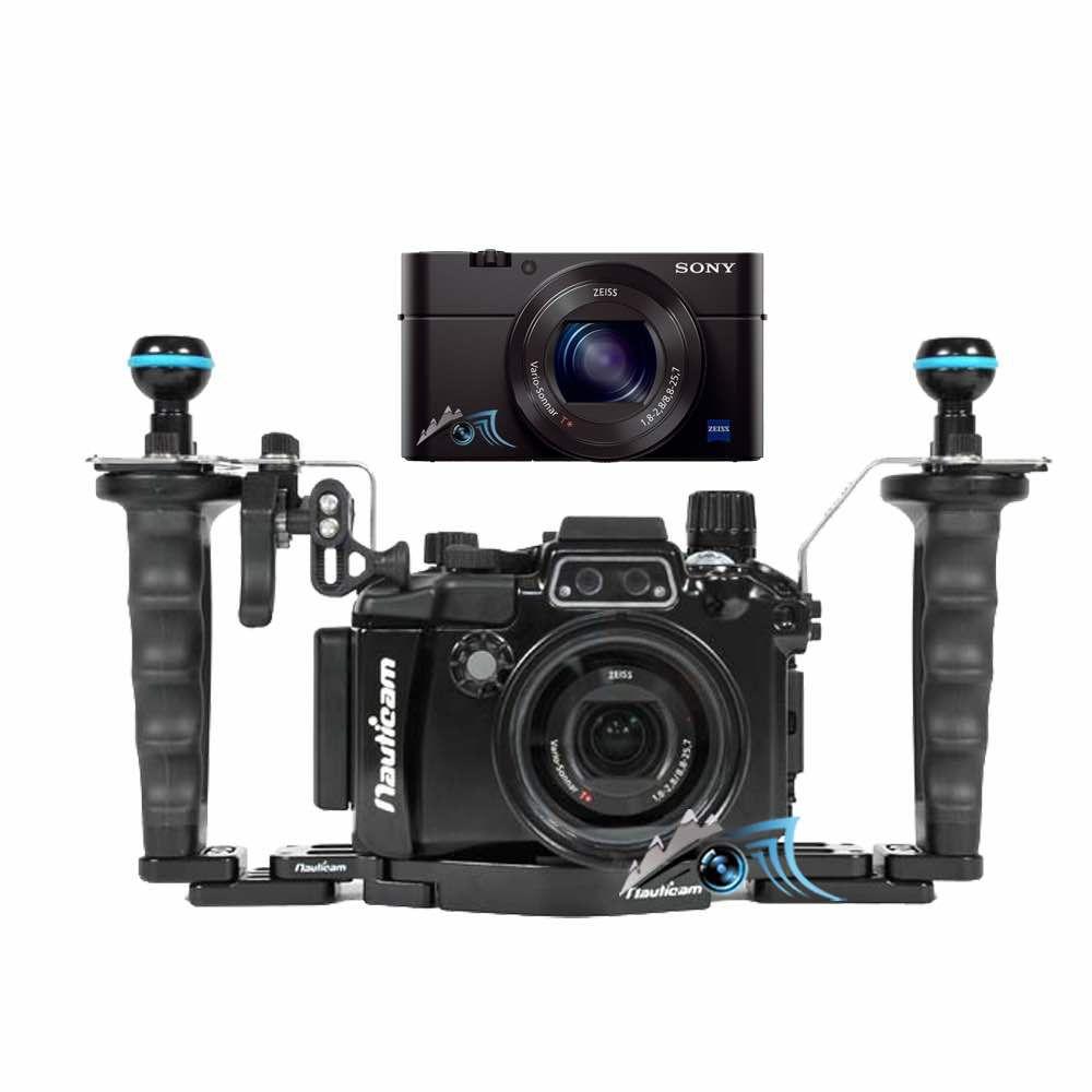 Pack nauticam rx100 VA / 5A pro + Sony RX100 VA