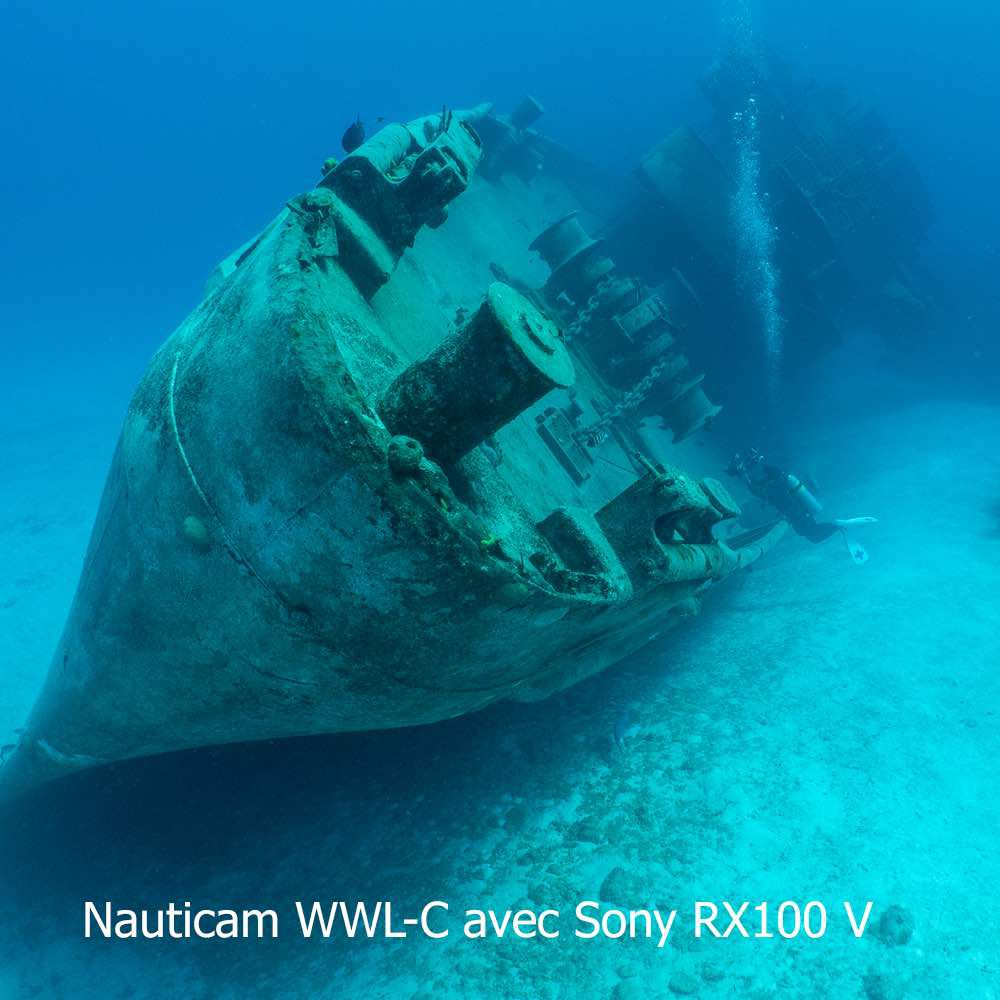 Nauticam WWL-C 130 Degré avec hublot à baionnette pour Nauticam Sony RX100 7