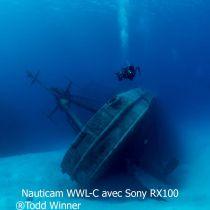 Nauticam WWL-C 130 Degré avec hublot à baionnette pour Nauticam Sony RX100 6, Canon G7XIII, Panasonic LX100II