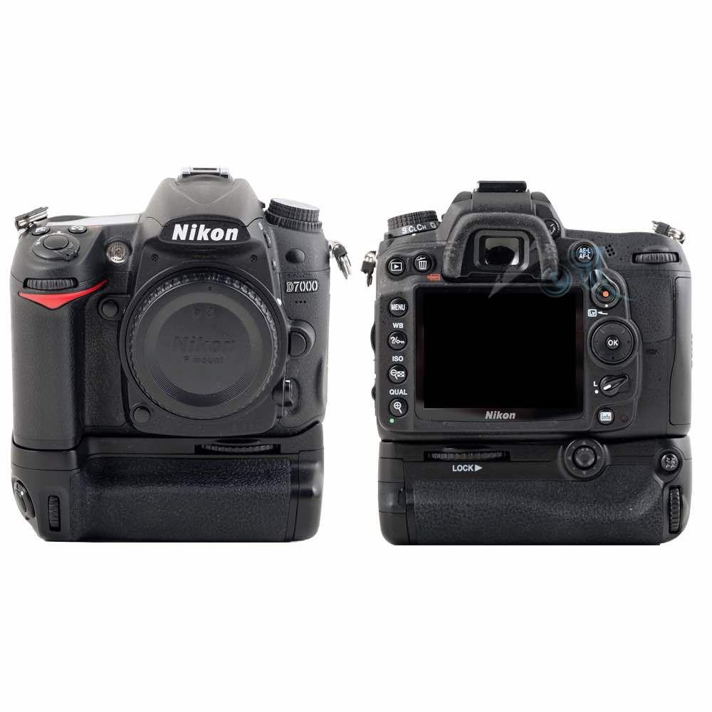 Occasion Nikon D7000 avec batterie pack Meik