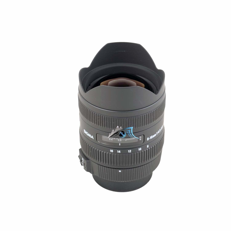 Occasion Sigma DC 8-16 mm f/4,5-5,6 HSM/Nikon