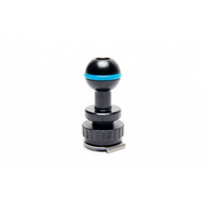 Adaptateur boule 25 mm sur griffe porte flash nauticam