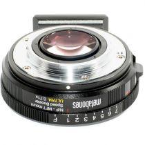 Adaptateur Metabones Speed Booster Ultra 0.71x pour objectif Nikon G vers appareil photo Micro Four Thirds-Mount
