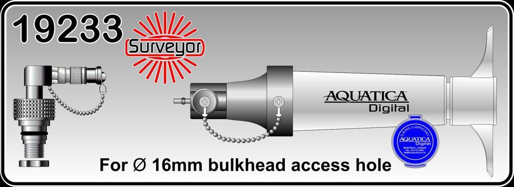 Aquatica détecteur d\'humidité avec capteur de pression