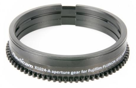 Bague d\'ouverture nauticam x1024-a pour fujinon fujifilm xf 10-24 mm f4