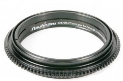 Bague de zoom nauticam c2470f4-z pour canon ef 24-70mm f/4l is usm
