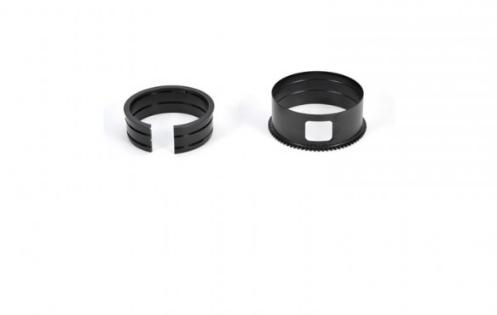Bague de zoom nauticam cmef815-z pour adaptateur canon ef-eos m et 8-15 mm f4 fisheye usm