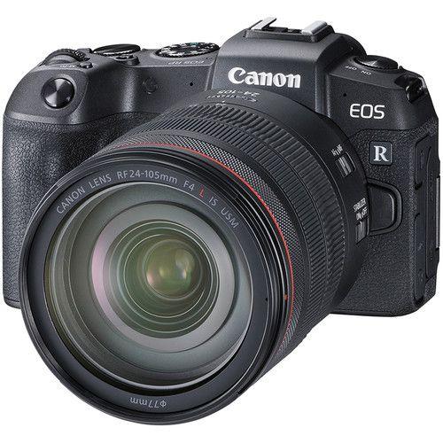 Boîtier Canon EOS RP + objectif RF 24-105mm f/4L IS USM + bague d\'adaptation EF-EOS R
