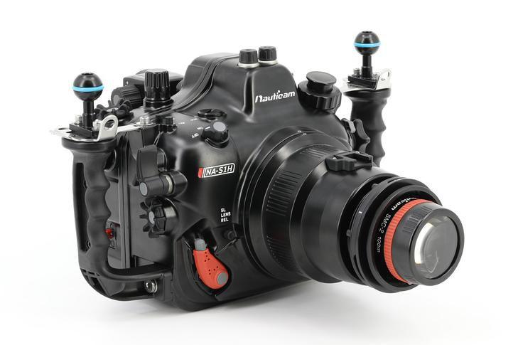 Caisson Nauticam pour Panasonic S1H vacuum inclus