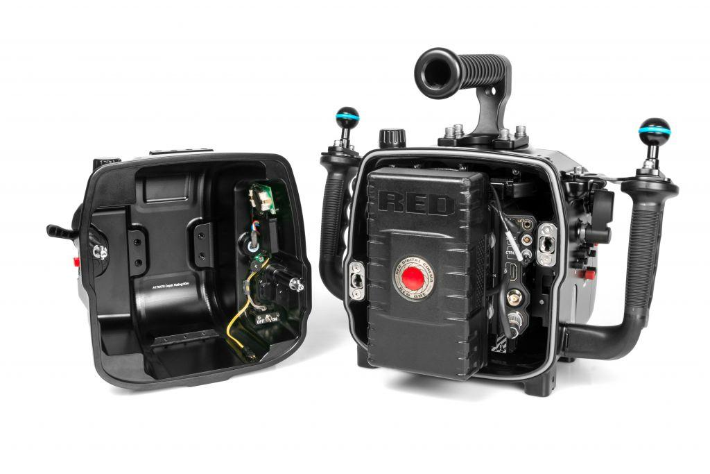 Caisson Nauticam Weapon LT pour système de caméra RED DSMC2 (hublot N120)