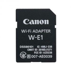 CANON Adaptateur Wi-Fi W-E1 au format carte SD pour 7DII/5DS/5DS R