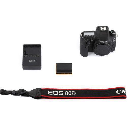 CANON EOS 80D boitier nu + 2ème batterie LP-E6N