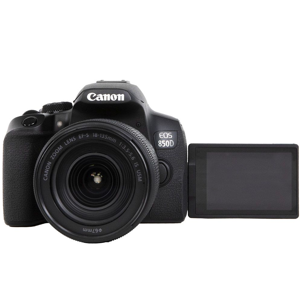 CANON EOS 850D + 18-135 mm f/3,5-5,6 IS STM