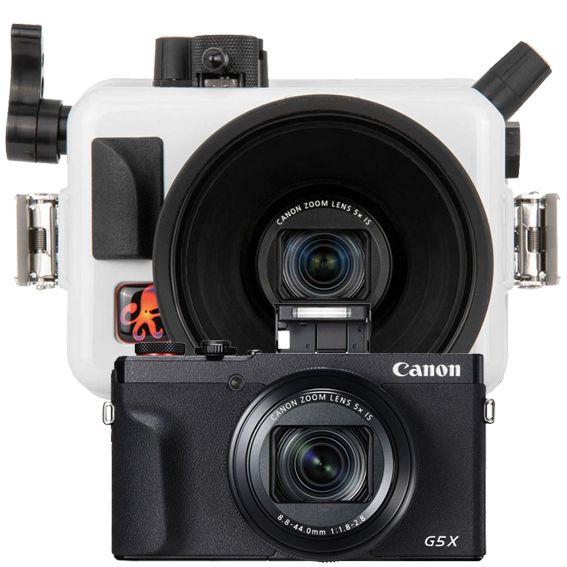 Canon G5X MKII avec caisson Ikelite 614606