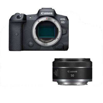 Canon R5 + Canon RF 50 mm f /1.8 STM