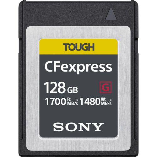 Carte mémoire CFexpress Type B TOUGH de 128 Go de Sony
